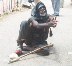 indian beggar picture