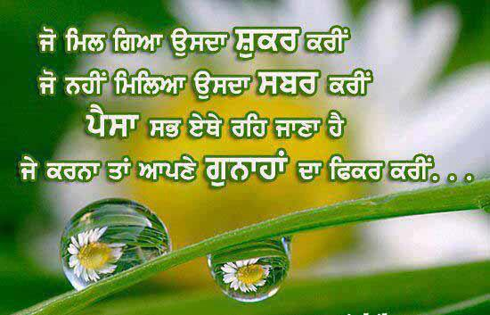 Motivationa Thoughts  in Punjabi wallpapers