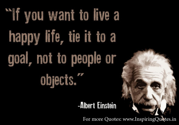 Albert Einstein Quote Happy Life Images Pictures Wallpapers