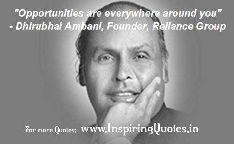 Dhiru bhai Ambani Quotes Inspirational Thoughts Wallpapers Images Pictures