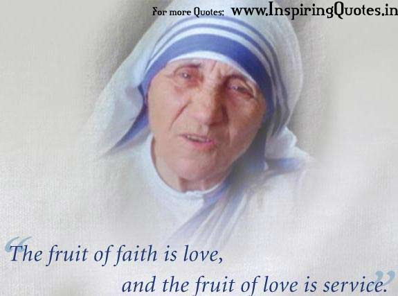 Mother Teresa Famous Love Quotes Images Wallpapers