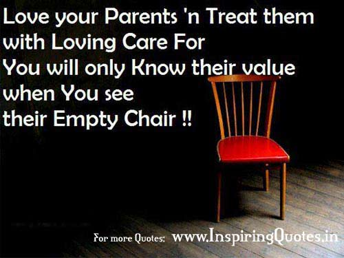 Parents love quotes thoughts father mother care