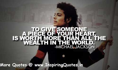 Famous Michael Jackson Quotes, Thoughts and Sayings Images Wallpapers Pictures