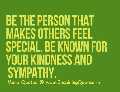Quotes on Kindness and Sympathy Thoughts Sayings Images Wallpapers Pictures
