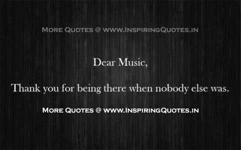 Quotes On Music Thoughts About Music Quotes About Music