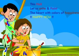 Happy Holi Quotes, Thoughts, Holi English Text Messages, Status with Photos, Pictures, Images, Wallpapers, Download
