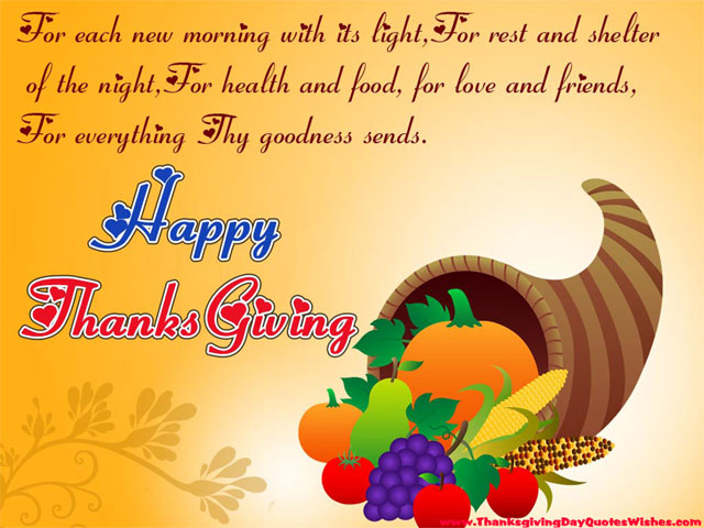 Happy Thanksgiving Day Quotes Images, Friends, Family, Love, God Blessings, Greetings Images